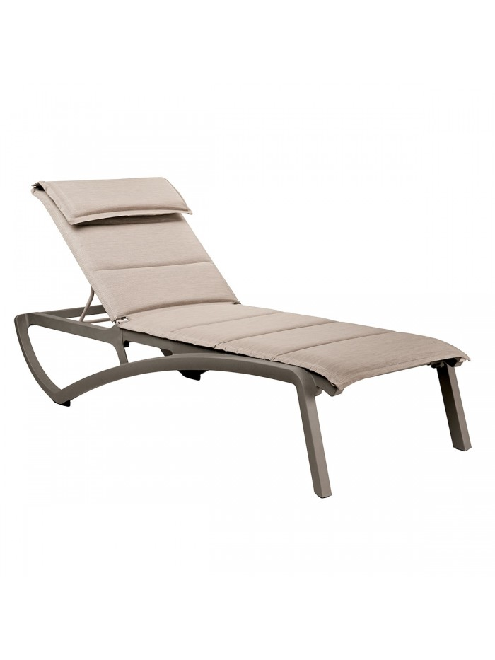 Sunset Confort sun lounger
