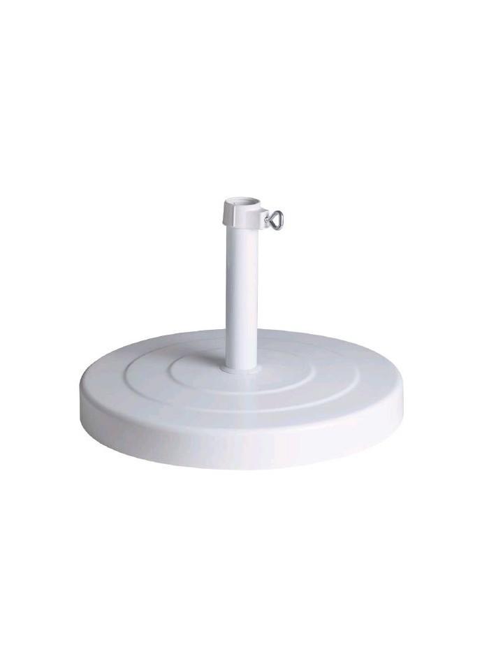 Base de parasol blanca